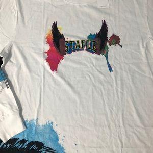 Staple Shirts - Staple Waterbrush Longsleeve Tee sz 2xl